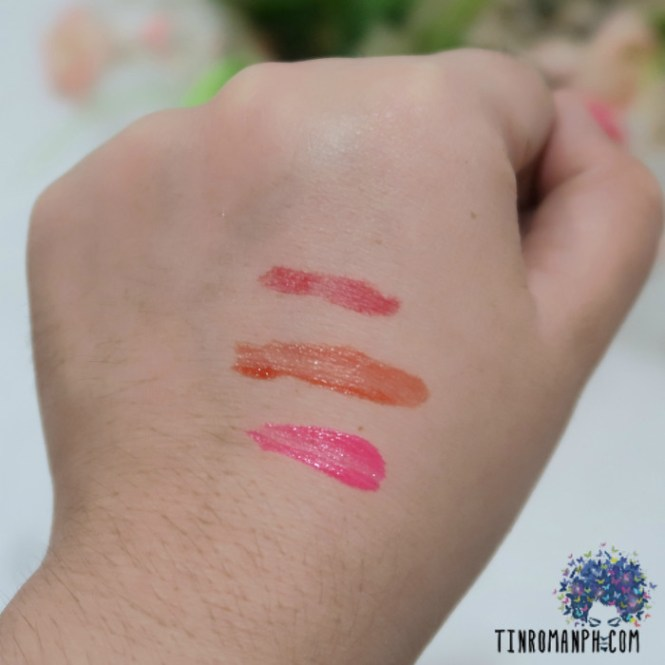 The Saem Water Candy Tint Review - Swatches
