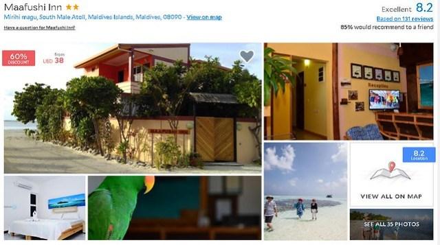 Maafushi Inn - Maldives Cheap Accommodation