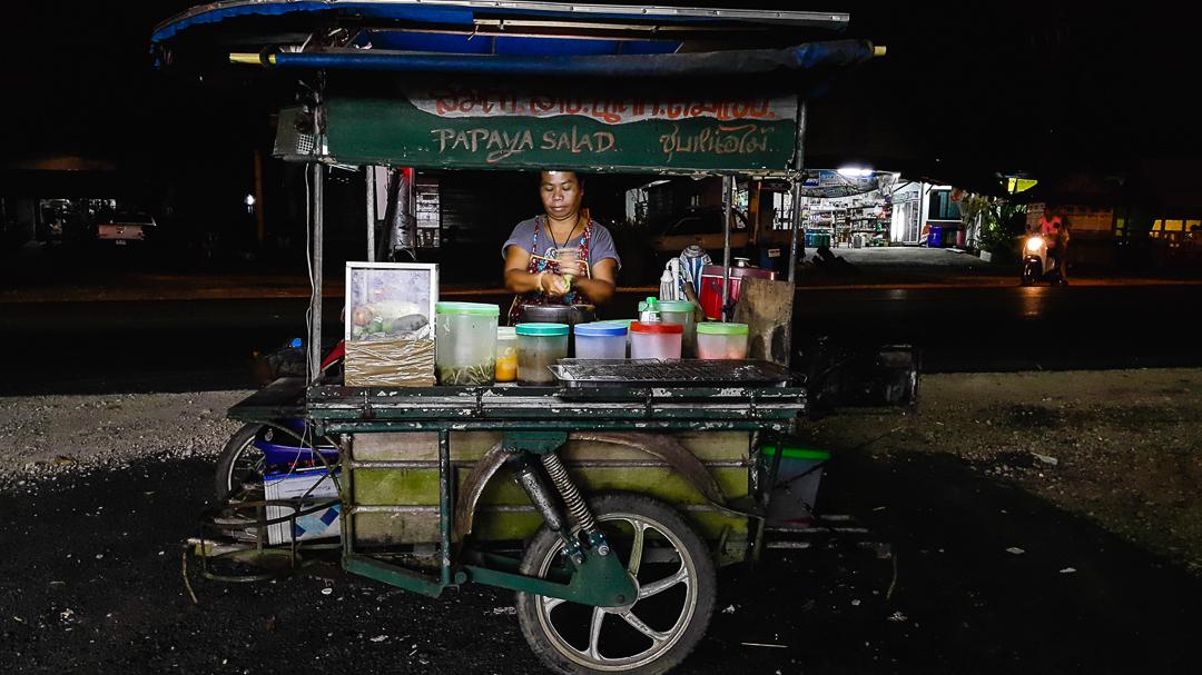 khao lak thailand | street food
