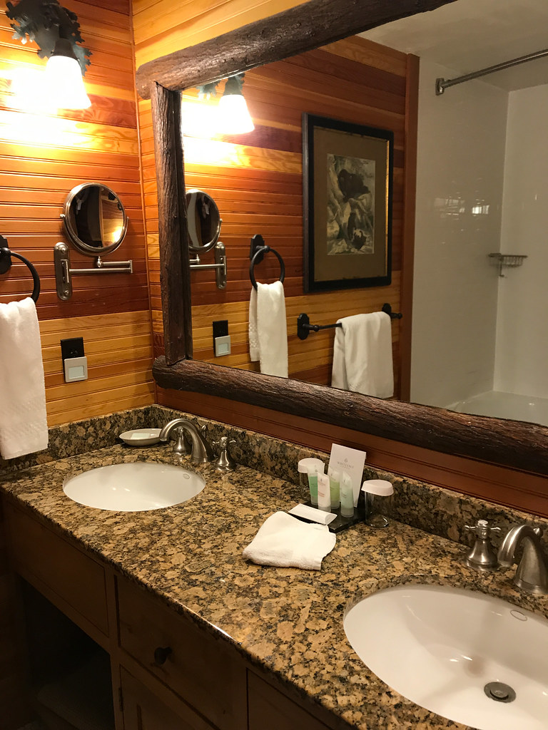 Junior suite at Whiteface Lodge, Lake Placid, NY