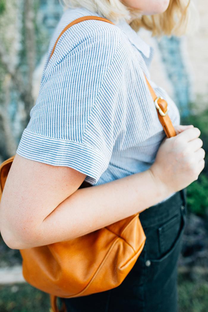 austin style blogger writes like a girl madewell denim skirt12