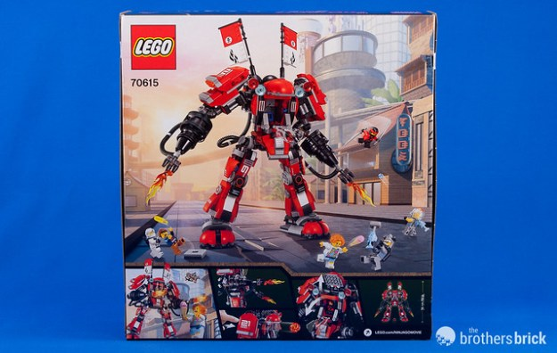 Lego Ninjago Movie 70615 Fire Mech Review The Brothers Brick