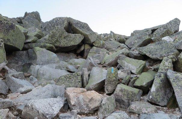 Katahdin Abol Trail More Boulders
