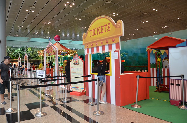 Changi Airport Tickets / Redemption Booth