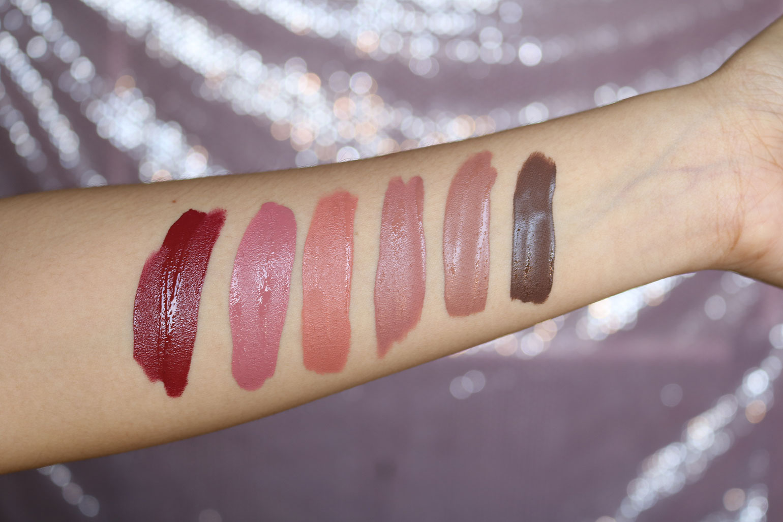 11 Cathy Doll Nude Me Liquid Lip Matte Review Swatches - Gen-zel She Sings Beauty