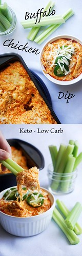Healthy Motivation : Easy Buffalo Chicken Dip - Keto, Low Carb Goodness! ...