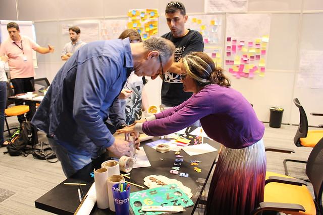 Oficina de Design Thinking no Setor Público para o CIASC