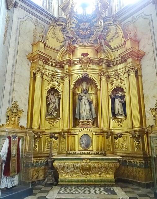 Segovia Capilla de San Geroteo en la Catedral de Nuestra Señora de la Asunción y de Frutos