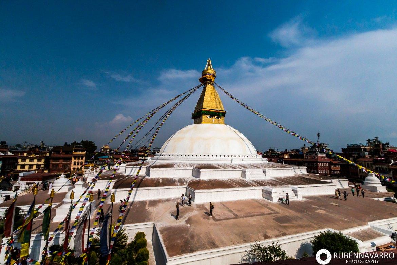 Visitar Katmandú - Bpudhanath