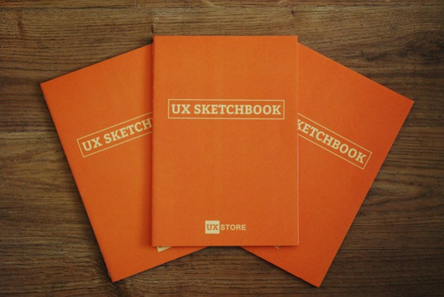 UX Sketchbooks from the UX Store