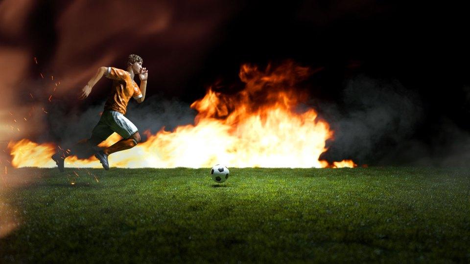 2d, 3d, active, ball, competition, epic, soccer opener, lights, media, soccer, social, sport, sports, transform