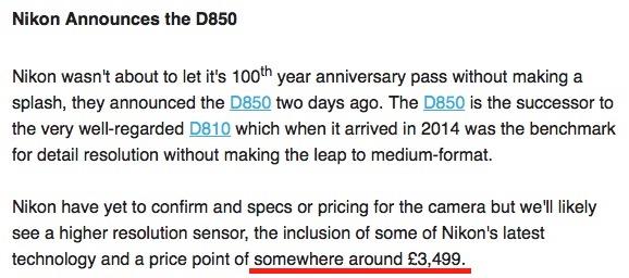 Nikon-D850-price