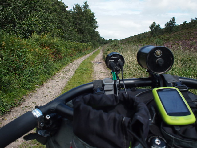 NCN2 Trip - Some off route bridleway action