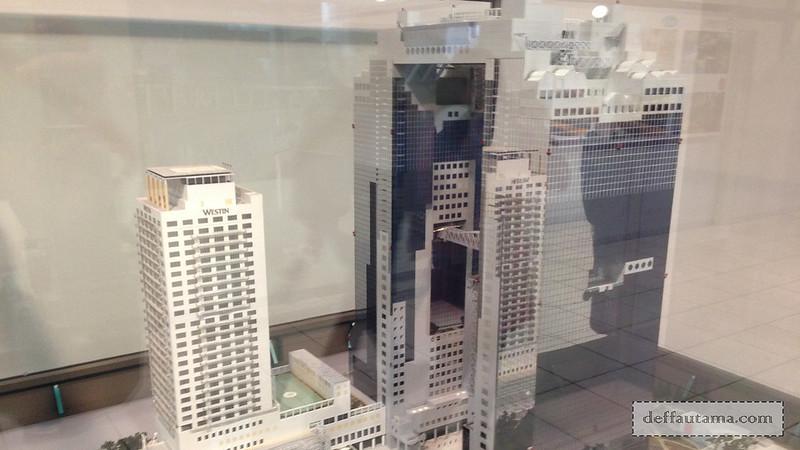 2 Hari Keliling Osaka - Umeda Sky Building