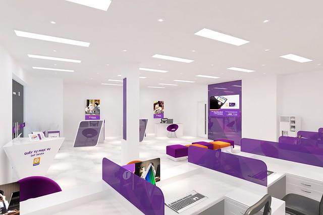 Nhà Hoàn Thiện chuyên thiết kế & thi công xây dựng ngân hàng