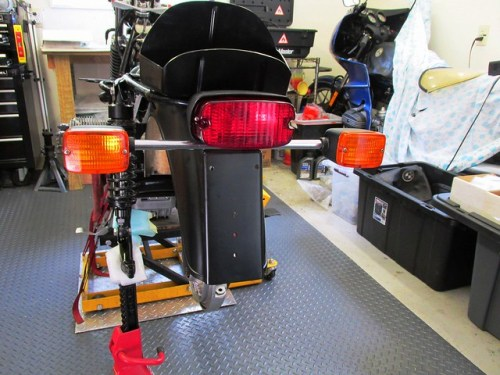 Brake Light and Turn Signals Installed