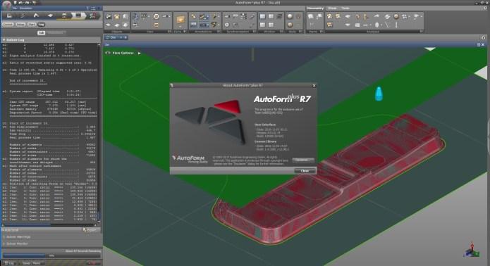 thiết kế và chế tạo với AutoForm Plus R7 64bit