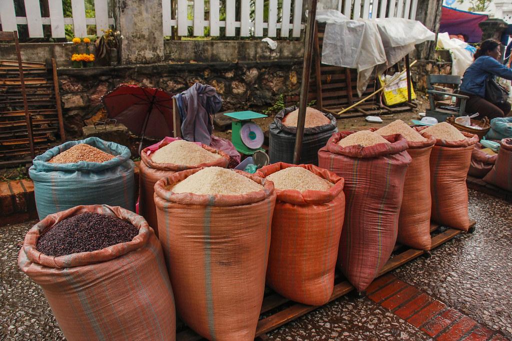 shopping i Luang Prabang Laos
