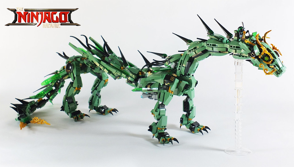 LEGO Ninjago Movie Green Mech Dragon
