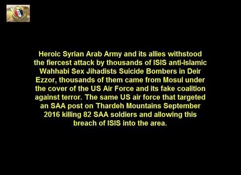 SAA Reclaims Large Areas in Deir Ezzor