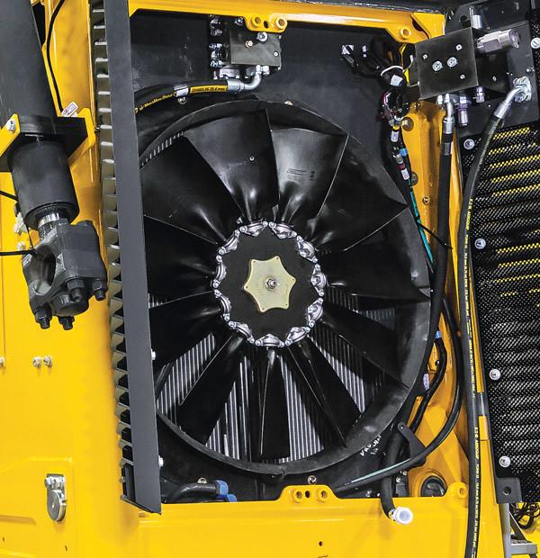 вентилятор с функцией реверса John Deere 1050K
