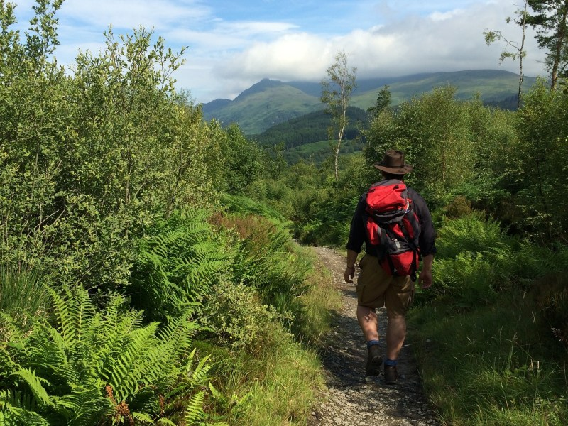 Trekking the West Highland Way (Photo source - Pixabay).