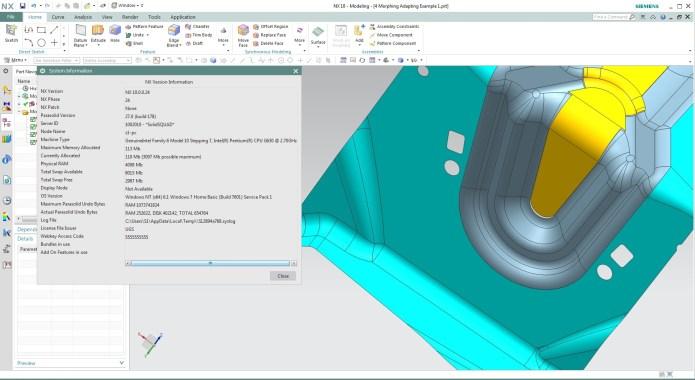 Làm việc với Phần mềm SIEMENS PLM NX 10 full