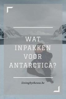 Inpaklijstje Antarctica