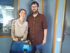 Aroa Ortega i Sergio Arevalo-Membres del Grup Jove AUDIR
