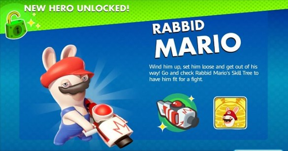 Mario + Rabbids Kingdom Battle - Rabbid Mario