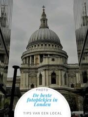 Fotoplekjes in Londen