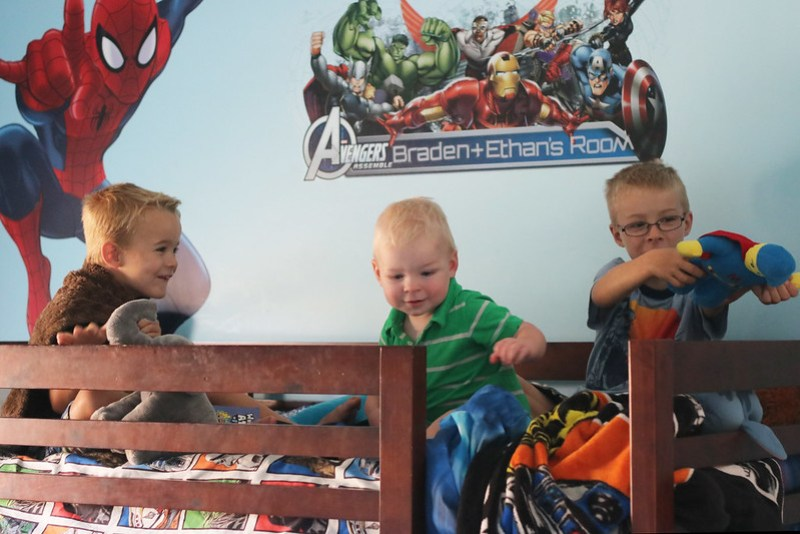 Playing on the Bunk Bed