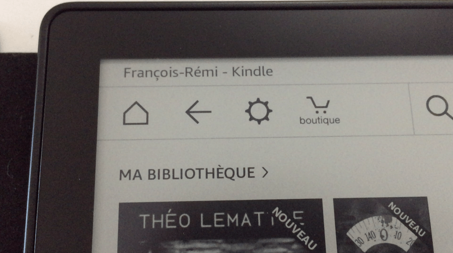 20170827 Test de la liseuse électronique Kindle OASIS Amazon 3