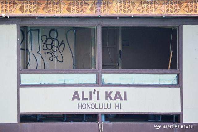 Ali'i Kai graffiti