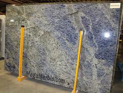Sodalite Blue Quartzite Countertop Slabs