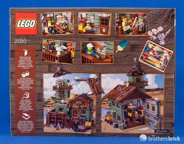 Lego ideas 21310 old fishing store review the brothers for Fishing lego set