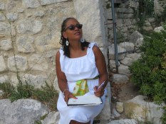 Journal sketching in Provence with www.frenchescapade.com