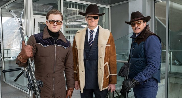 Kingsman the golden circle group