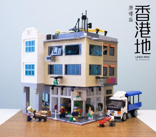Hong Kong Old-Styled Buildings (Tang Lou)