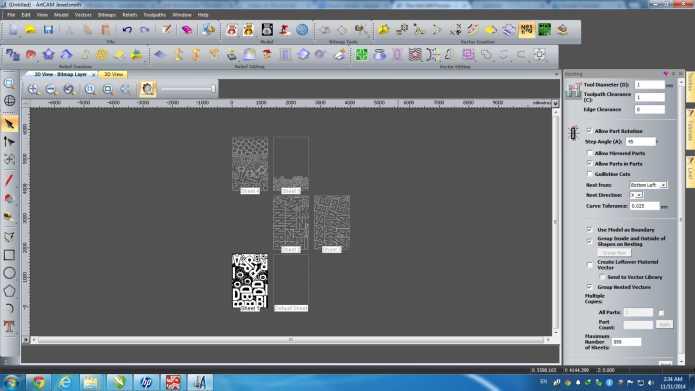 Thiết kế với phần mềm artcam 2011 full