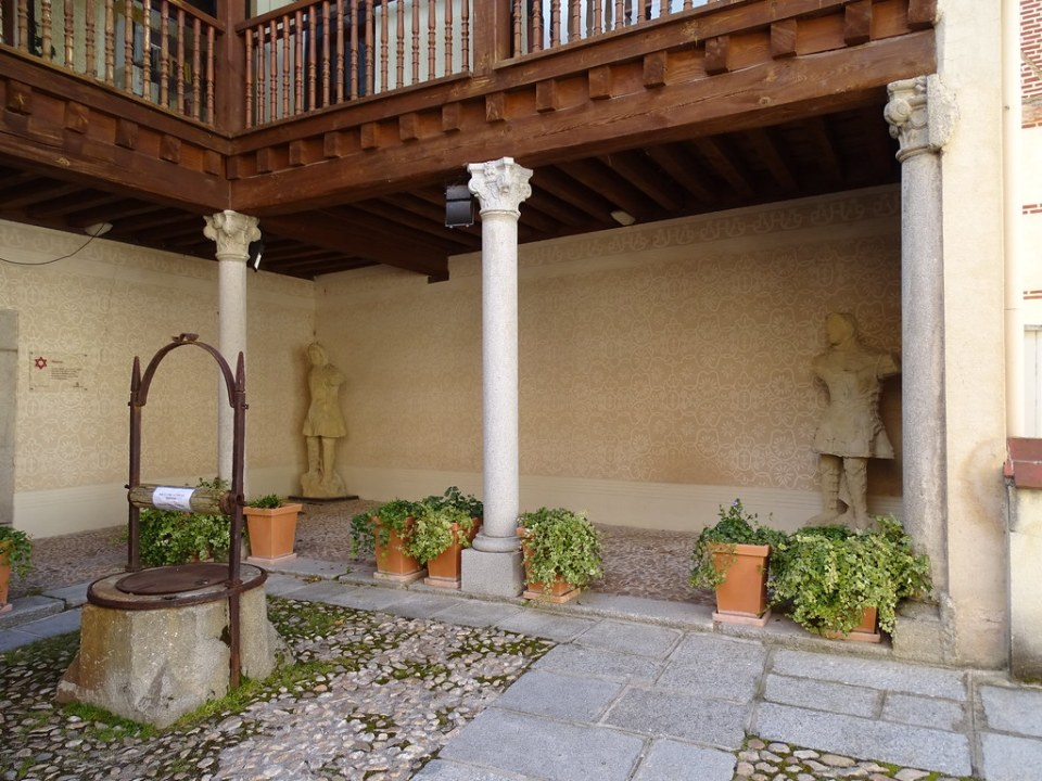 Segovia Juderia Casa de Abraham Senneor Casa de Mexía Tovar Casa de Andrés Laguna 05