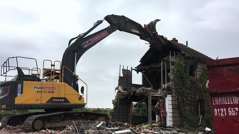 Levett Road demolition video