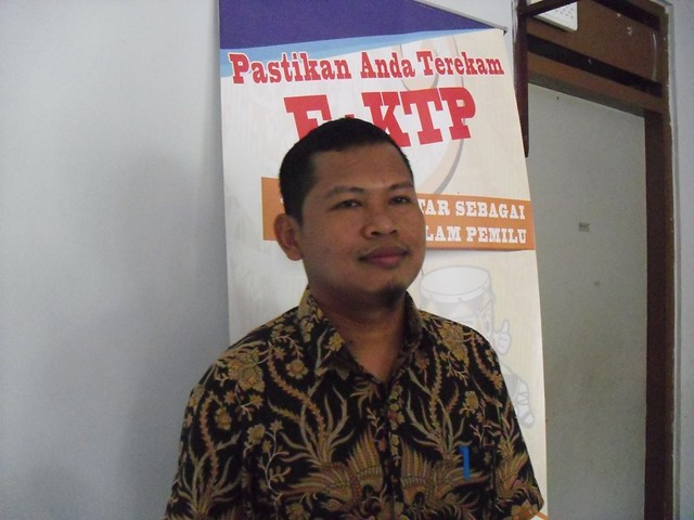 Ketua KPU Tulungagung, Suprihno, S.Pd, M.Pd