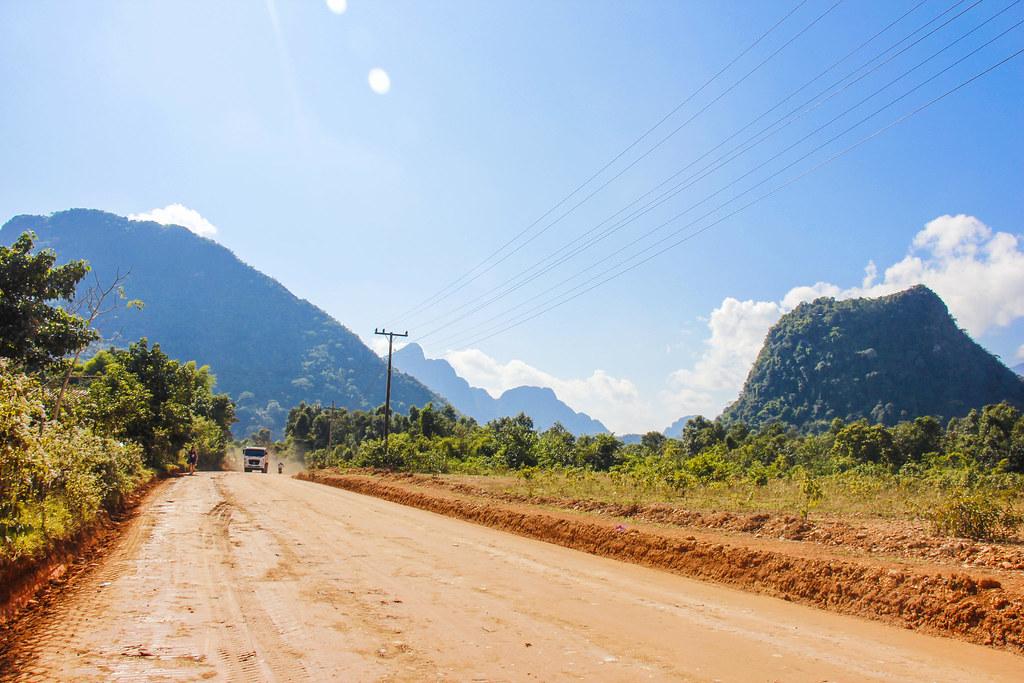 landsiden af Laos