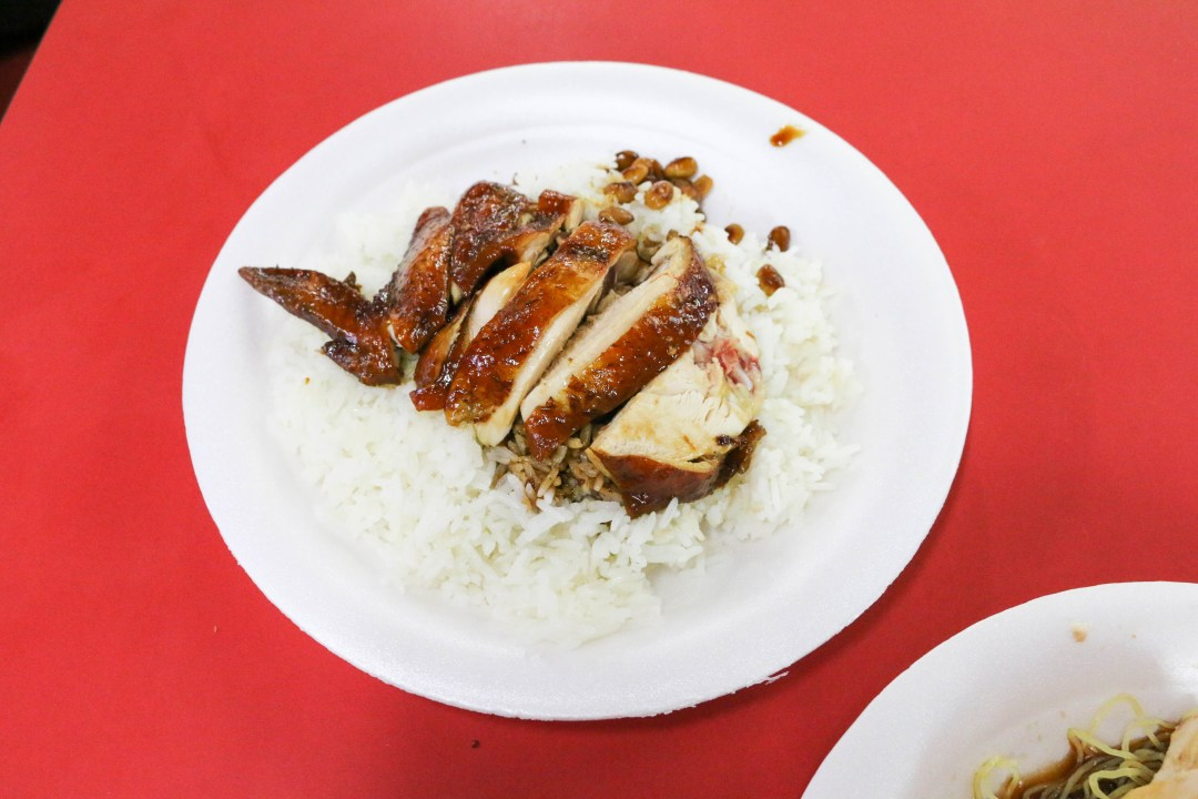 Soya Sauce Chicken Rice