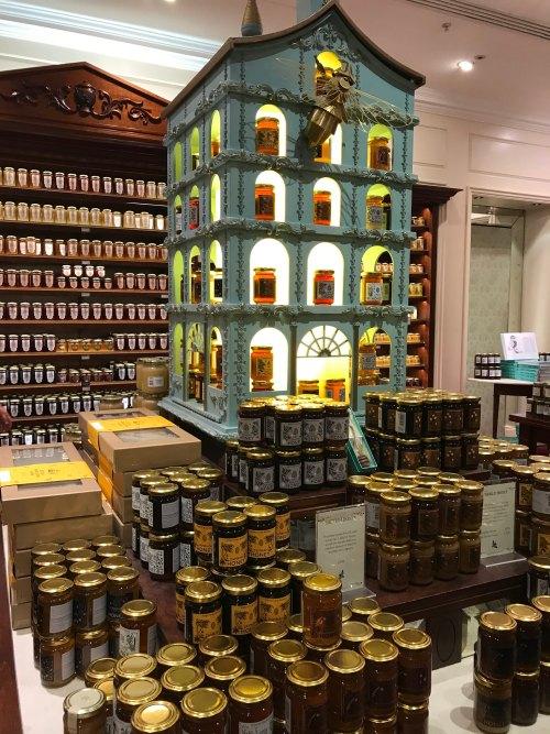 Frascos de mel