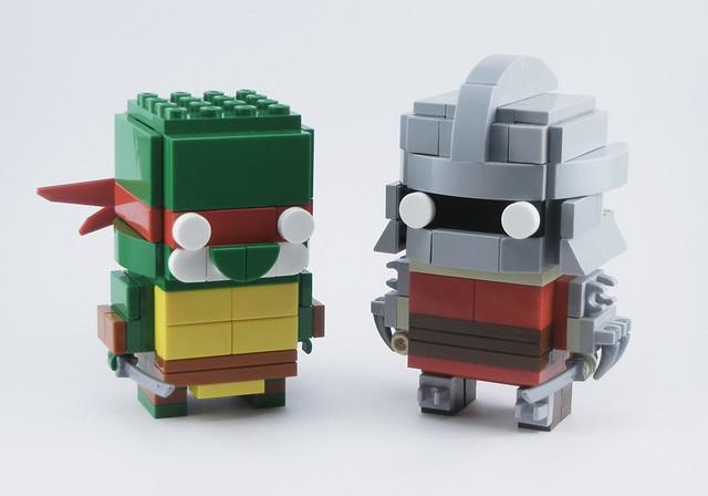 Leonardo & Shredder