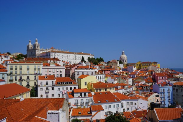 Alfama, oldest district of Lisbon