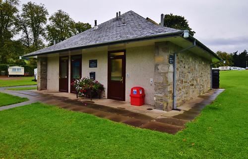 Blair Castle Caravan Park - Facilities on site at Blair Atholl