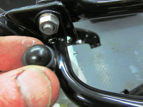 Vanity Cap For Top Sub-frame Nut